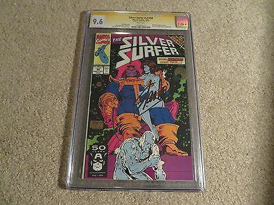 Silver Surfer #56 Infinity Gauntlet Thanos Cover CGC SS 9.6 Stan Lee 1991