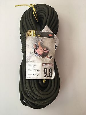 NEW Sterling Evolution Velocity 9.8mm x 60m Dry Treated Rope - Retails for $233!