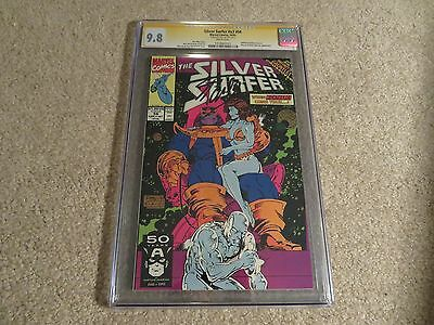 Silver Surfer #56 Infinity Gauntlet Thanos Cover CGC SS 9.8 Stan Lee 1991