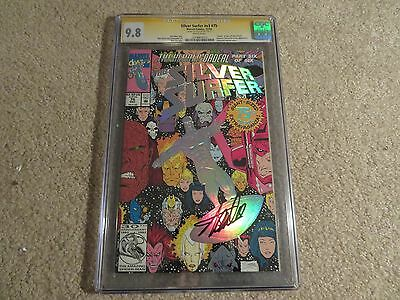 Silver Surfer #75 Death Of Nova CGC SS 9.8 Stan Lee 1992 Marvel White Pages