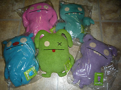 Uglydolls Lot of 5 Plush HTF Collection all New NWT