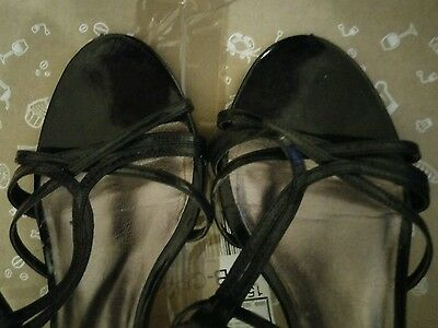 Next strappy sandals party shoes size 8