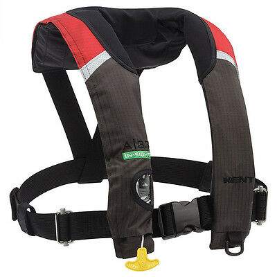 New Kent Onyx A-33 Auto In-Sight Automatic Inflatable Life Jacket/pfd/vest,red