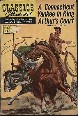 Classics Illustrated #24 Us Edition Sep 1945 Glossy Cover Nice Pages Vg+