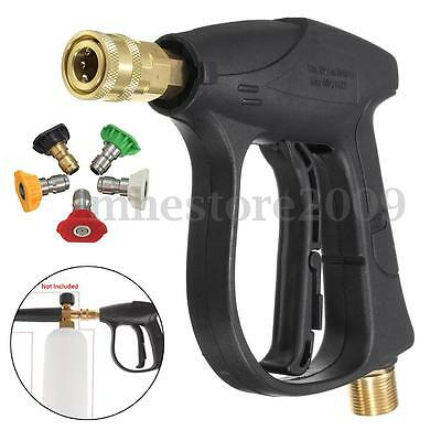 3000 PSI High Pressure Washer Gun Car Cleaning with 5-color Water nozzle Tip kit