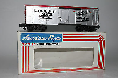 American Flyer #6-48805 National Dairy Despatch Insulated Boxcar, Excellent