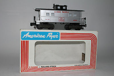 "American Flyer #6-48703 Union Pacific Square Window Caboose ""safety"" Car, Boxed"