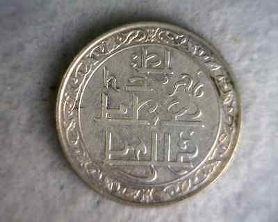 BRITISH INDIA MEWAR STATE RUPEE 1928 SILVER COIN (Stock# 0342)