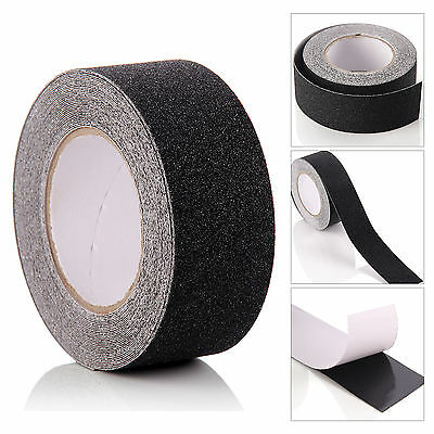 Anti Slip Tape High Grip Adhesive Backed Non Slip Tape Conformable Black