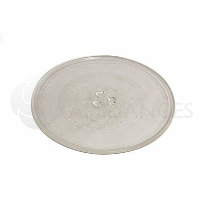 UNIVERSAL 255mm Microwave Glass TURNTABLE PLATE FREE DELIVERY