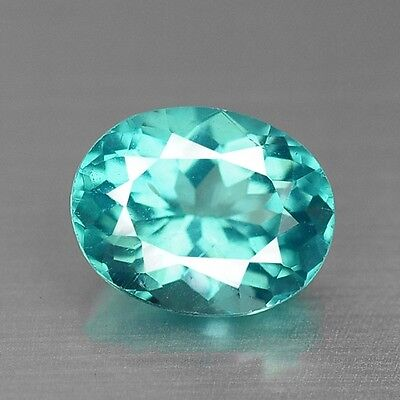 0.97 Cts Top Quality Neon Blue Color Natural Apatite Gemstones