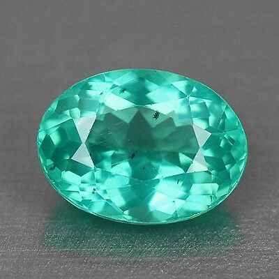 1.40 Cts Top Quality Neon Green Color Natural Apatite Gemstones