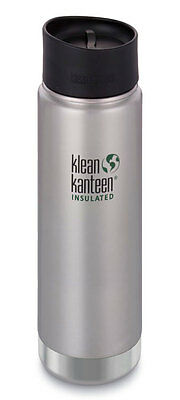 Klean Kanteen Vacuum Insulated Wide 592ml Bottle with Cafe Cap