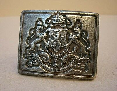 Rare WWII Bulgarian royal belt buckle belonged to NCO officer of Cavalry