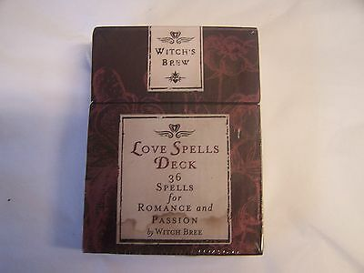 Witch's Bew Love Spells Deck Of Cards New In Packing