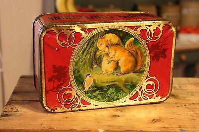 Vintage Squirrel Confections – Confectionary / Sweets Tin – Great! –