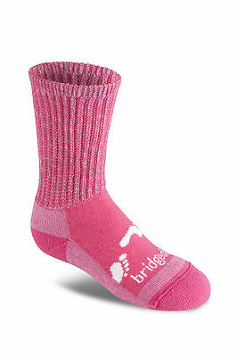 Bridgedale TREKKER JUNIOR PINK L UK 1-3 Children's Boot Hiking Trekking Socks