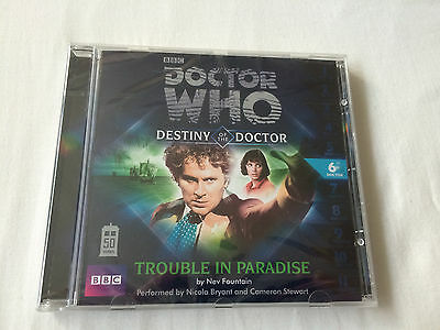 Doctor Who: Trouble in Paradise Nev Fountain Audio Book CD 6th Doctor Big Finish
