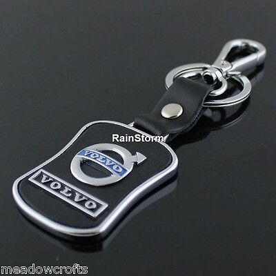 Volvo Key Ring NEW with Gift Box - UK Seller - Car Keyring