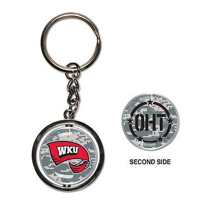 Western Kentucky Hilltoppers Operation Hat Trick Spinner Keychain - NCAA