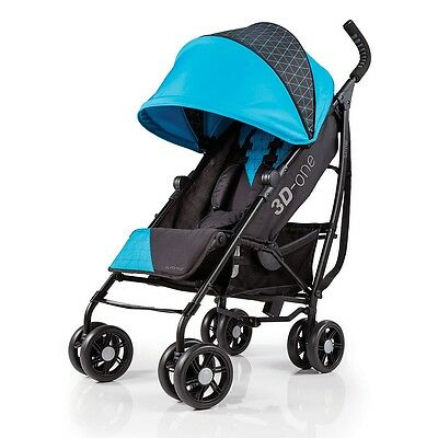 3D-one Convenience Stroller  Geometric Blue