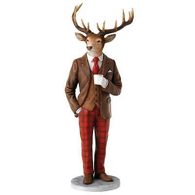 Border Fine Arts Stags With Style Collection Spencer Figurine New Boxed A27423