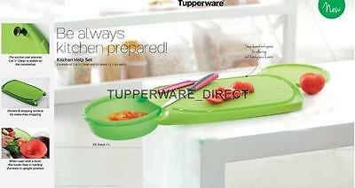 Tupperware Cut N Clean Chopping Board And Ss Bowl Free Shipping 30 99 Picclick