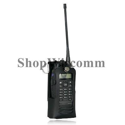 Boston Leather 5706RC-1 Radio Holder for Motorola XPR 6500 6550 6580 & More