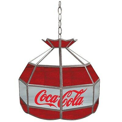 Officially Licensed - Coca-Cola® Tiffany Light - Red, White & Gray - 16""