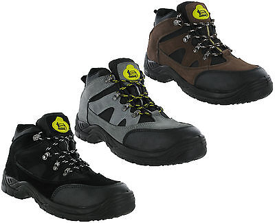 0d65dd746a30 Mens Safety Work Steel Toe Cap Chukka Ankle Boot Graham Tradesafe 3 Colours