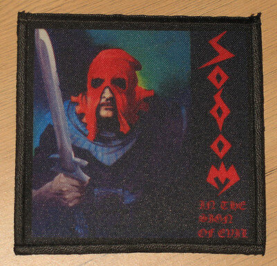 "SODOM ""IN THE SIGN OF EVIL"" silk screen PATCH"