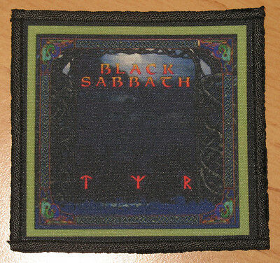 "BLACK SABBATH ""TYR"" silk screen PATCH"
