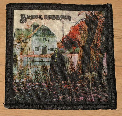 "BLACK SABBATH ""BLACK SABBATH"" silk screen PATCH"