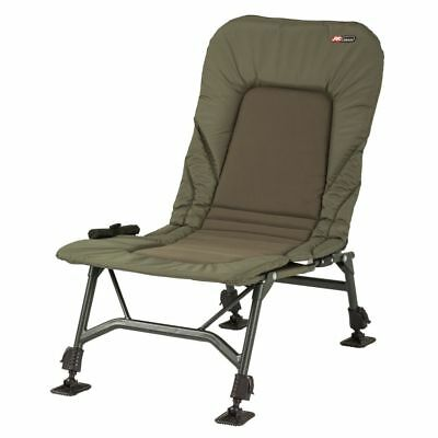 JRC NEW X-Lite Stealth Recliner Carp Fishing Chair - 1294359