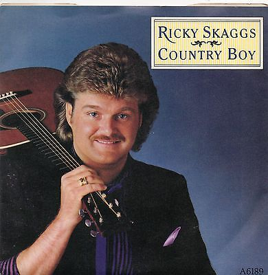 Ricky Skaggs - Country Boy / Wheel Hoss. (Uk, 1984, Epic, A 6189)