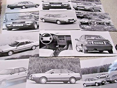 1987 Audi 80 Press Photos (12 Different) !!