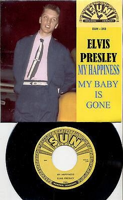 Elvis Presley My Happiness  Single In New Glossy Cover