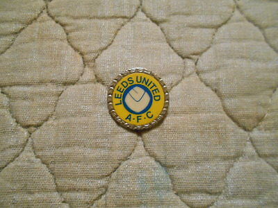Leeds United Fc Smiley Plastic Insert Badge