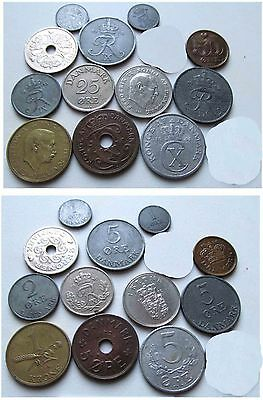 Wonderful Old Coins From Denmark 1927 Onwards