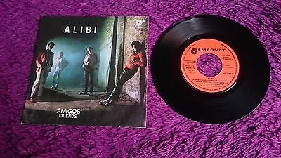 "Alibi  ‎– Friends ,  Vinyl, 7"", 1980 , Spain ,  MO 1974"