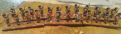 28mm British Scots Line Infantry Metal Napoleonic Painted & Based