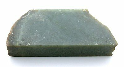 127.9 Gram Natural Nephrite Green Jade Slab Cab Cabochon Gemstone Slab Rough JS5