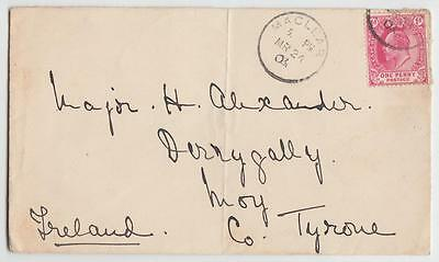 Cape Of Good Hope 1903 Cover Maclear To Moy Ireland