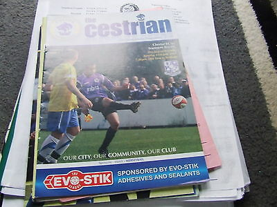 Chester City V Tranmere Rovers 2011 Friendly
