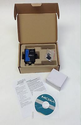 MOXA NPort 5110A Serial Device Server With Power Adapter - Ethernet