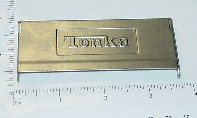 Tonka Stepside Embossed Stamped Steel Tailgate Toy Part