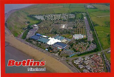 Butlin's Holiday Camp - Minehead - Aerial View - Postcard