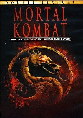 Mortal Kombat/Mortal Kombat: Annihilation (2011, REGION 1 DVD New)