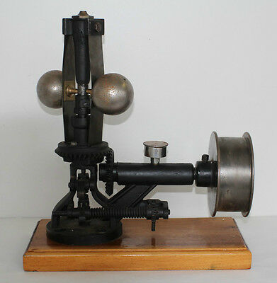 Vintage Large Steam Engine Governor With Pulley Patent 1888