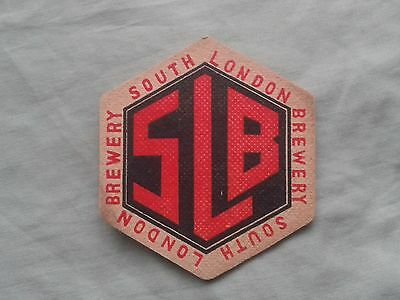1956 SOUTH LONDON BREWERY BEER MAT BBCS No. 2